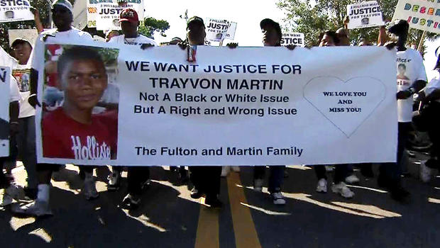 One demonstration demanding that George Zimmerman be arrested