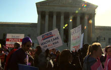Day two: Supreme Court health care rallies