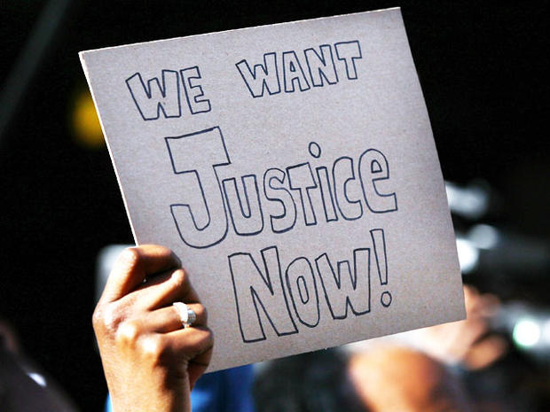 Nationwide protests over Trayvon Martin case