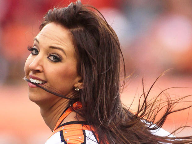 Former Cincinnati Bengals cheerleader Sarah Jones