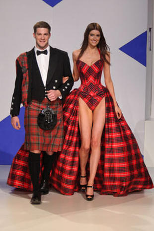 For Scotland With Love fashion show