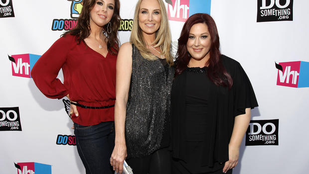 """Singers Wendy Wilson, Chynna Phillips, and Carnie Wilson of """"Wilson Phillips"""""""