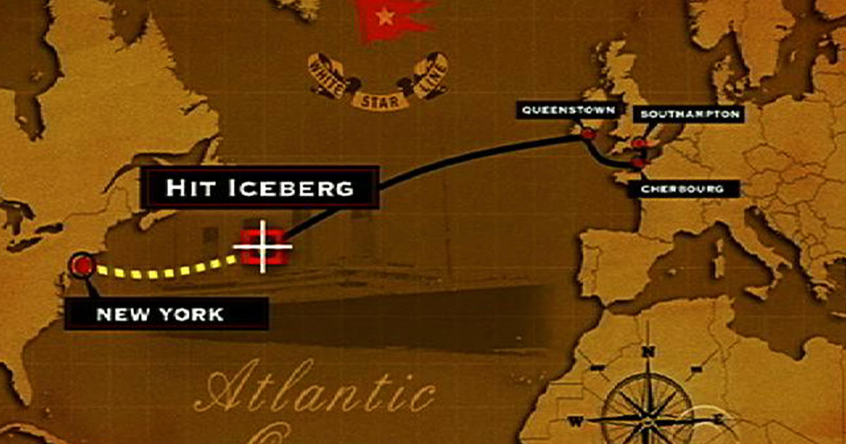 Cruise retraces Titanic\'s route, 100 years later - CBS News