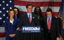 Santorum suspends presidential campaign (Full remarks)