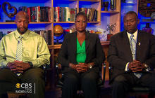 "Trayvon's parents ""at ease"" on Zimmerman arrest"