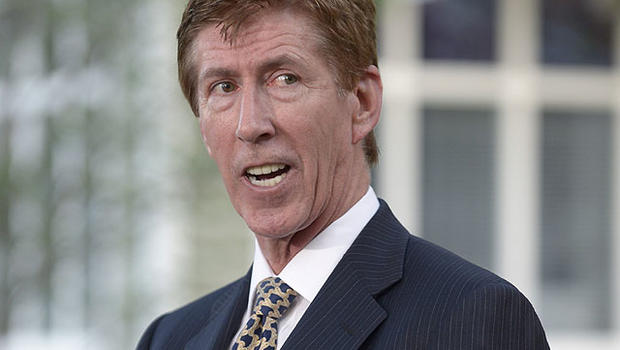 Mark O'Mara, attorney for George Zimmerman, addresses reporters outside his offices in Orlando, Fla., April 11, 2012.