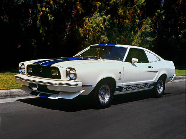 mustangs through the years - ford mustang through the years