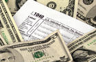 Tax, Tax Form, Refund, Savings, Document, Paperwork, Finance, Debt, Horizontal, Currency, April, USA, Paper, Bill