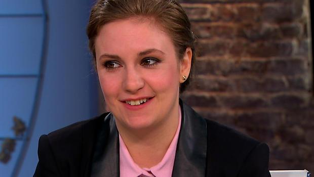 """Lena Dunham on """"CBS This Morning."""""""