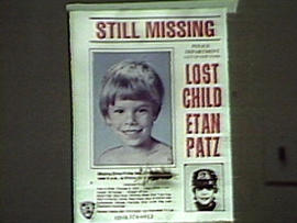 Search for answers about Etan Patz