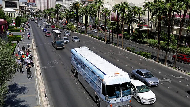 """Hangover Heaven"" bus rolls out in Las Vegas"