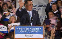 "Romney: ""A better America begins tonight"""