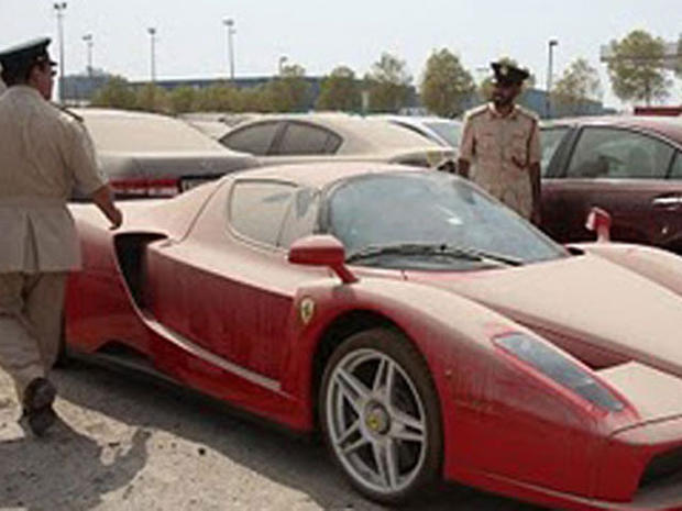 Dubai Ferrari auction