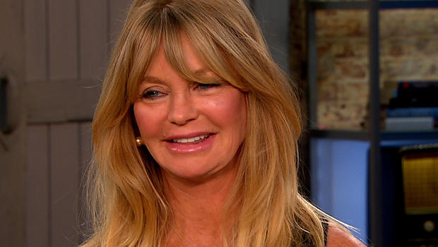 "Goldie Hawn on ""CBS This Morning."""