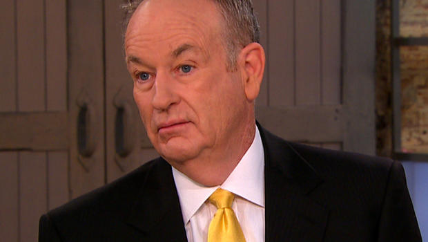 """Bill O'Reilly on """"CBS This Morning."""""""