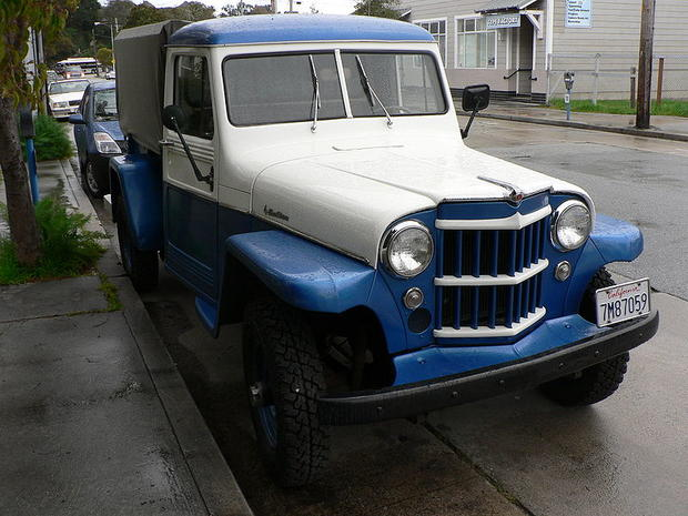 1947-1965: Willys Jeep Truck - Jeep through the years