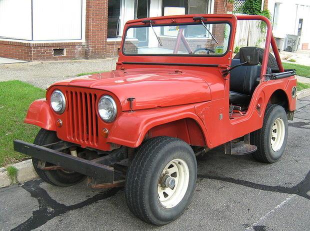 1955 Cj5 Willys Jeep