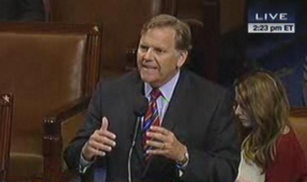 "CISPA author Mike Rogers, a Republican, calls a proposed Democratic amendment ""Big Brother on steroids."""
