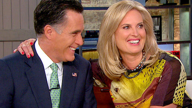"""Ann and Mitt Romney on """"CBS This Morning"""" May 1, 20102"""