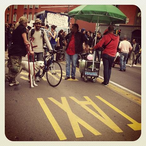 May Day Occupy protests: Instagrams, tweets