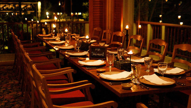 Rethinking the team dinner cbs news for Table 85 hours
