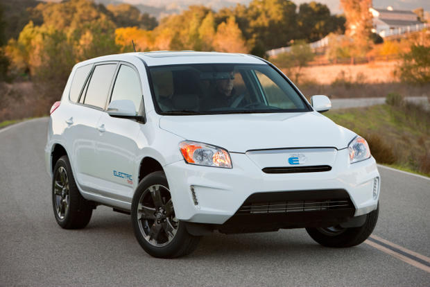 The RAV4 EV, coming to the U.S. this year.