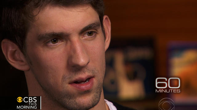 "Michael Phelps speaks to ""60 Minutes."""