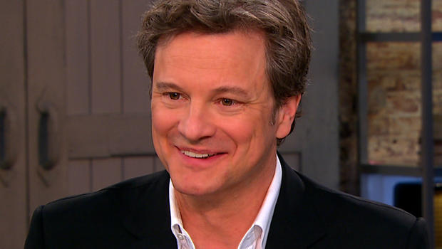 """Colin Firth on """"CBS This Morning."""""""