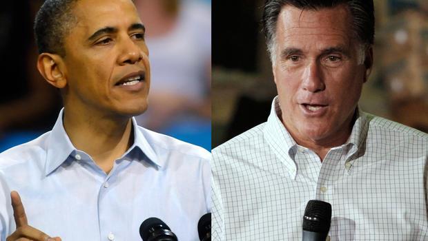 President Barack Obama, Mitt Romney