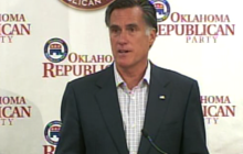 Romney doesn't take on Obama for change in position