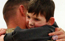 Marine returns home to miracle