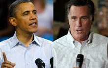Obama for same-sex marriage, Romney's days as a bully
