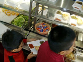 los angeles, students, lunches, healthy