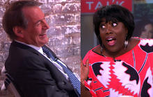 """Charlie Rose gets love from a lady of """"The Talk"""""""