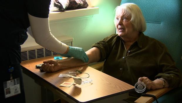 Alzheimer's study participant Marian Myles
