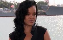 """Rihanna boards """"Battleship"""""""