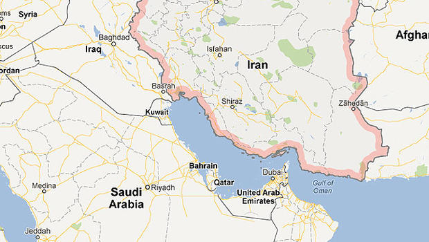 Iran threatens to sue google over geography cbs news gumiabroncs Images