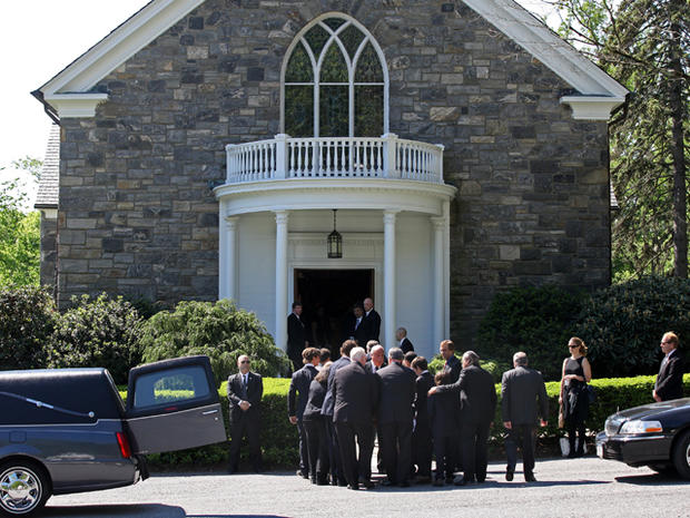 Mary Richardson Kennedy's funeral