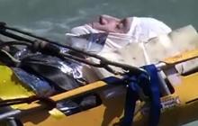 Man jumps over Niagara Falls, survives