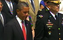 Obama lays Memorial Day wreath