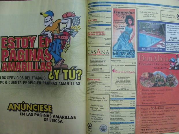 Cuba, yellow pages