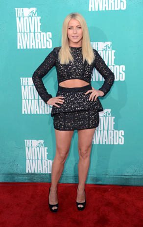 MTV Movie Awards 2012 red carpet