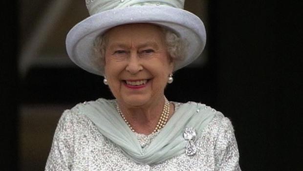 Queen Elizabeth enjoying Diamond Jubilee celebrations