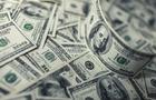 Hundred dollar bills money pile.