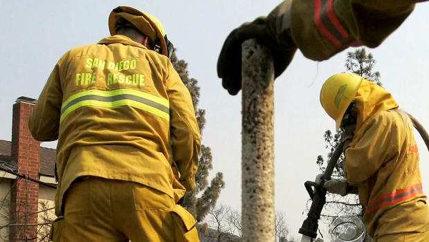 san Diego, firefighters