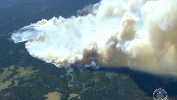 High Park Fire, Colorado
