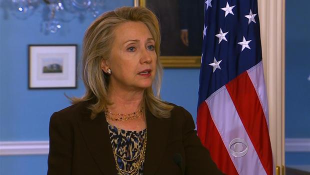 U.S. Secretary of State Hillary Rodham Clinton in Washington, D.C. on June 13, 2012.
