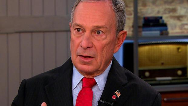 "NYC Mayor Michael Bloomberg on ""CBS This Morning"" Wednesday"