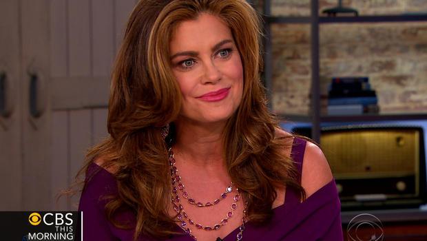 "Kathy Ireland on ""CBS This Morning."""
