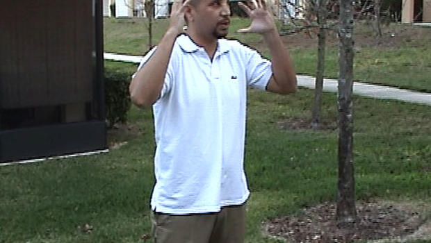 George Zimmerman walks police through his fatal encounter with Trayvon Martin a day after shooting the Florida teen.